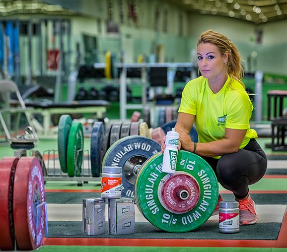 LYDIA VALENTÍN - Campeona olímpica de halterofilia